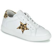 Schoenen Dames Lage sneakers Yurban LAMBANE Wit