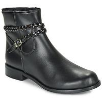 Schoenen Dames Laarzen So Size OSCARDO Zwart
