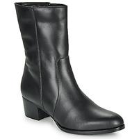 Schoenen Dames Enkellaarzen So Size GASPARD Zwart