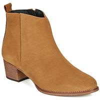 Schoenen Dames Laarzen So Size MARTINO  camel