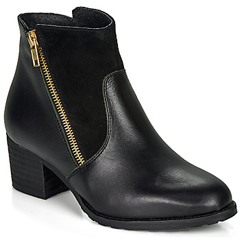 Schoenen Dames Enkellaarzen So Size FELICIO Zwart
