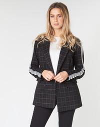 Textiel Dames Mantel jassen Benetton SUDIDEL Zwart