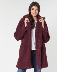 Textiel Dames Mantel jassen Naf Naf BIPROTEST Prune