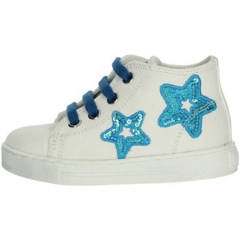 Schoenen Meisjes Lage sneakers Falcotto 0012012360.02.9111 White/Light Blue