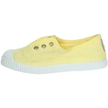 Schoenen Meisjes Lage sneakers Cienta 70998 Yellow