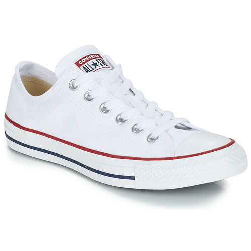 c4a3cd9d73f Schoenen Lage sneakers Converse CHUCK TAYLOR ALL STAR CORE OX Wit / Optisch