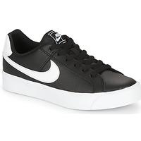 Schoenen Dames Lage sneakers Nike COURT ROYALE AC W Zwart / Wit