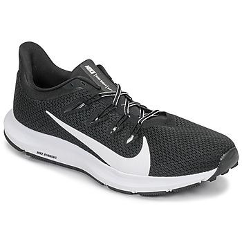 Schoenen Heren Running / trail Nike QUEST 2 Zwart / Wit
