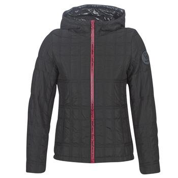 Textiel Dames Dons gevoerde jassen Desigual EDIMBURGO Zwart