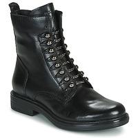 Schoenen Dames Laarzen Mjus CAFE STYLE Zwart