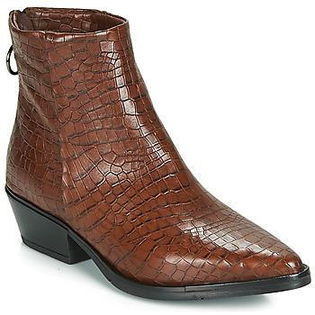 Schoenen Dames Laarzen Mjus CALAMITY Brown