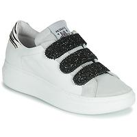 Schoenen Dames Lage sneakers Meline SCRATCHO Wit / Glitter