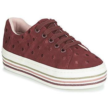 Schoenen Meisjes Lage sneakers Gioseppo FUSSEN Bordeaux