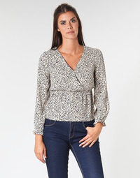 Textiel Dames Tops / Blousjes Betty London LOVA Beige / Zwart