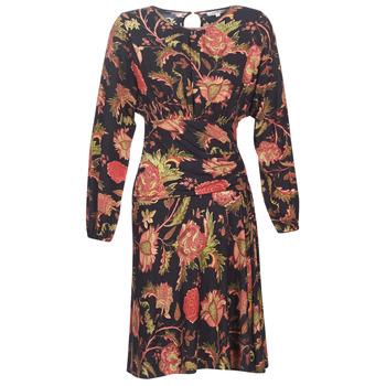 Textiel Dames Korte jurken Derhy BANQUISE Zwart / Multicolour