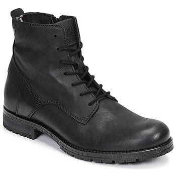 Schoenen Heren Laarzen Jack & Jones JFW ORCA LEATHER Zwart