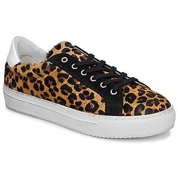 Schoenen Dames Lage sneakers Ikks BP80245-62 Leopard