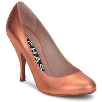 Schoenen Dames pumps Rochas RO18061-90 Metallic-oranje