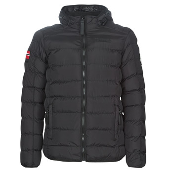 Textiel Heren Dons gevoerde jassen Geographical Norway BALANCE-NOIR Zwart