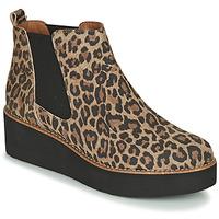 Schoenen Dames Laarzen Fericelli LORNA Brown