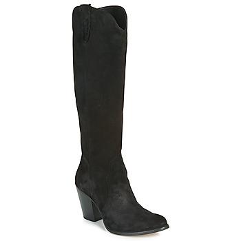 Schoenen Dames Hoge laarzen Fericelli LUNIPIOLLE Zwart