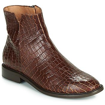Schoenen Dames Laarzen Fericelli LANAELLE Brown