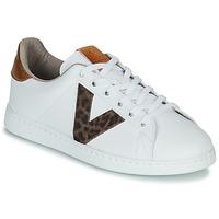 Schoenen Dames Lage sneakers Victoria TENS PRINT Wit