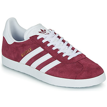 Schoenen Lage sneakers adidas Originals GAZELLE Bordeaux