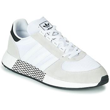 Schoenen Lage sneakers adidas Originals MARATHON TECH Wit