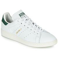 Schoenen Lage sneakers adidas Originals STAN SMITH Wit / Groen