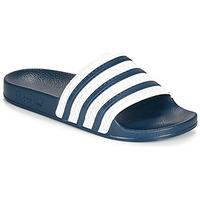 Schoenen Slippers adidas Originals ADILETTE Blauw / Wit