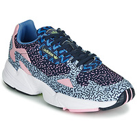 Schoenen Dames Lage sneakers adidas Originals FALCON W Blauw / Roze