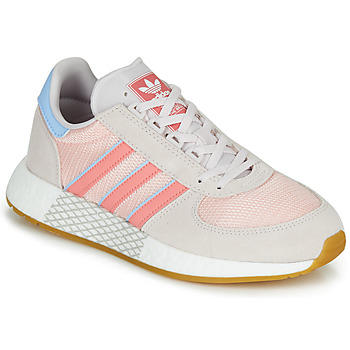 Schoenen Dames Lage sneakers adidas Originals MARATHON TECH W Grijs / Roze