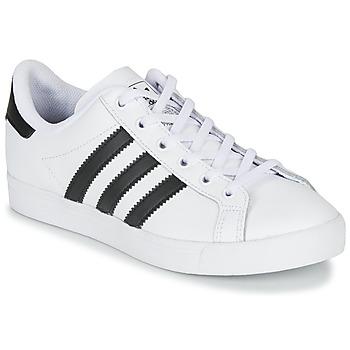 Schoenen Kinderen Lage sneakers adidas Originals COAST STAR J Wit / Zwart