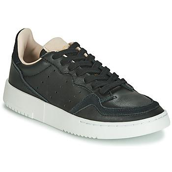 Schoenen Kinderen Lage sneakers adidas Originals SUPERCOURT J Zwart