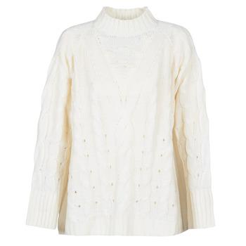 Textiel Dames Truien Betty London LOYD Ecru