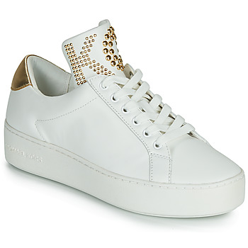 Schoenen Dames Lage sneakers MICHAEL Michael Kors MINDY LACE IP Wit