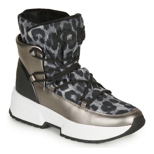 Schoenen Dames Snowboots MICHAEL Michael Kors CASSIA BOOTIE Leopard