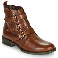 Schoenen Dames Laarzen Betty London LENA Cognac