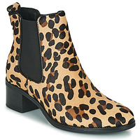 Schoenen Dames Enkellaarzen Betty London HASNI Leopard