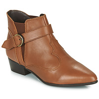 Schoenen Dames Laarzen Betty London LYDWINE Cognac