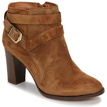 Schoenen Dames Enkellaarzen Betty London LIESE  camel