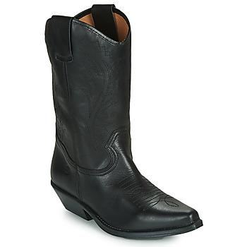 Schoenen Dames Hoge laarzen Betty London LOVA Zwart