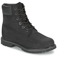 Schoenen Dames Laarzen Timberland 6IN PREMIUM BOOT - W Zwart