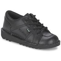 Schoenen Kinderen Lage sneakers Kickers KICK LOTOE Zwart