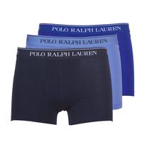 Ondergoed Heren Boxershorts Polo Ralph Lauren CLASSIC-3 PACK-TRUNK Blauw