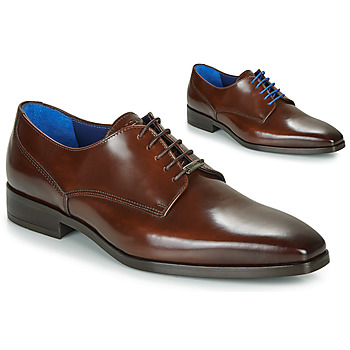 Schoenen Heren Derby Azzaro POIVRE Brown