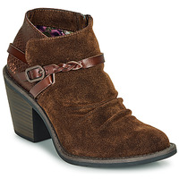 Schoenen Dames Enkellaarzen Blowfish Malibu LAMA Brown