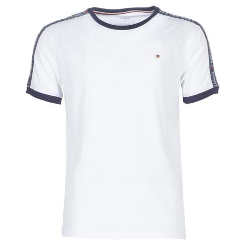 Textiel Heren T-shirts korte mouwen Tommy Hilfiger AUTHENTIC-UM0UM00563 Wit