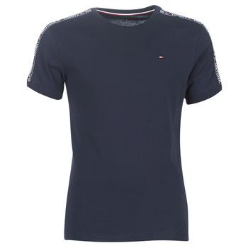 Textiel Heren T-shirts korte mouwen Tommy Hilfiger AUTHENTIC-UM0UM00562 Marine